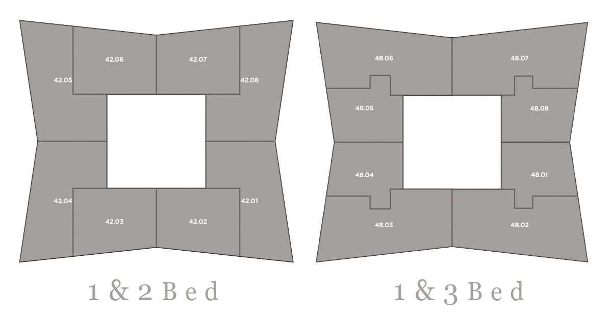 Deansgate Square 平面圖