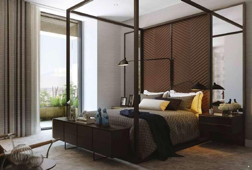 wardian bedroom
