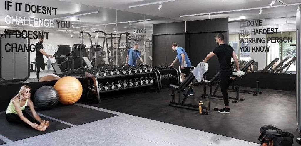 TwelveTrees Park gym
