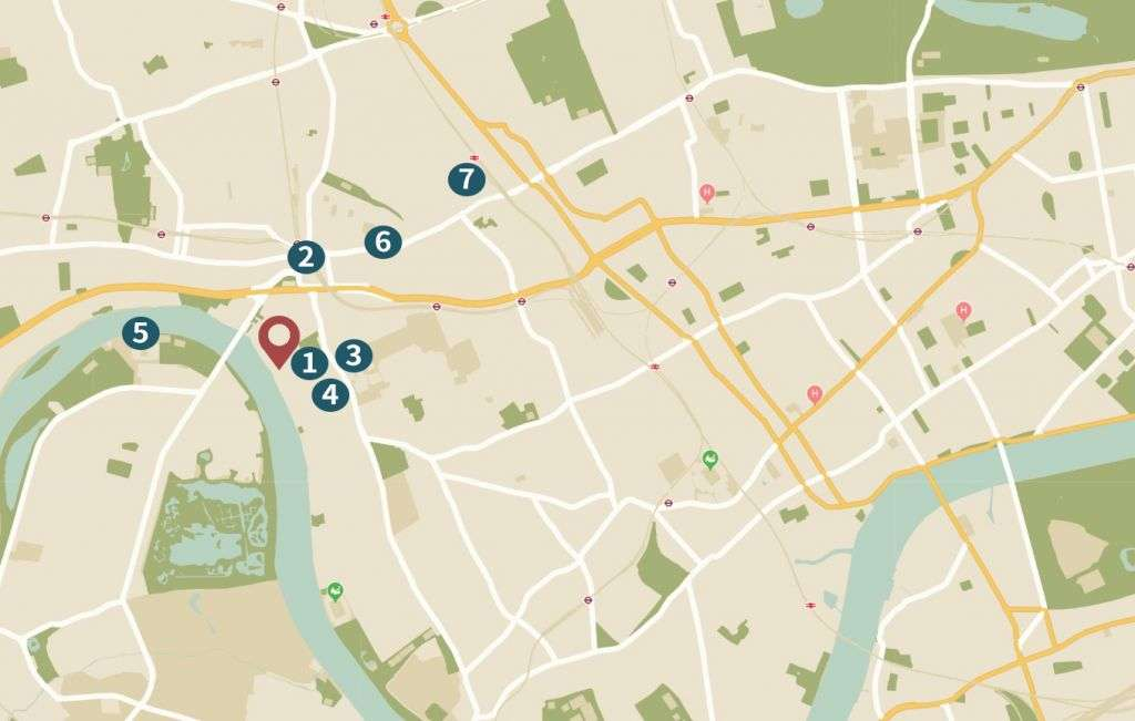 Fulham Reach location